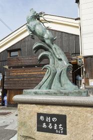 「彫刻のあるまち」の像