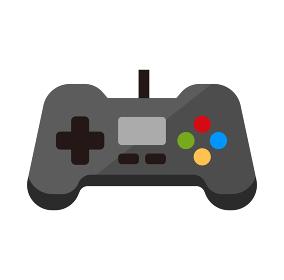 テレビゲーム・コントローラー / 家具・家電 ベクターカラーアイコン