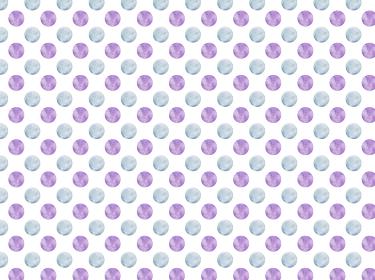 背景素材 水彩風パターン 水玉 水色 紫