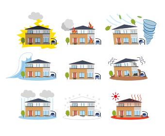 住宅 一軒家 自然災害