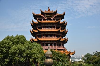 黄鶴楼、武漢、湖北省、中国