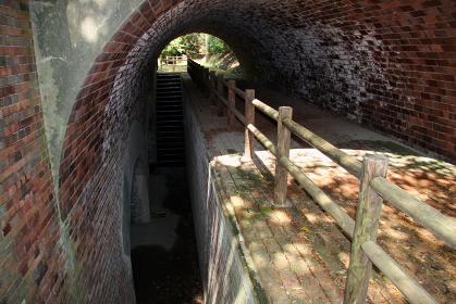 和歌山県の由良要塞遺構・深山砲台