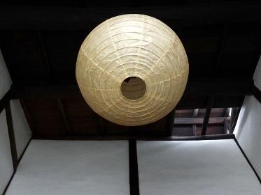 和風住宅の和風照明器具