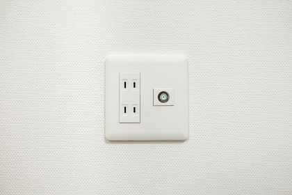 電気のコンセント