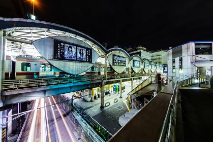 渋谷 夜景 2012年