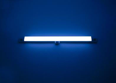 蛍光灯 ブルー 1509