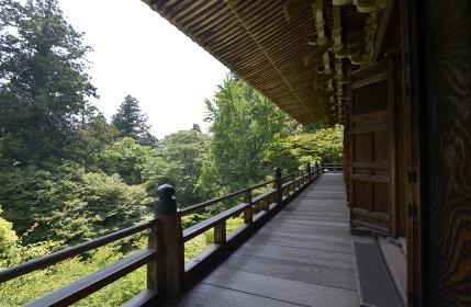 書写山円教寺 摩尼殿の回廊 兵庫県姫路市