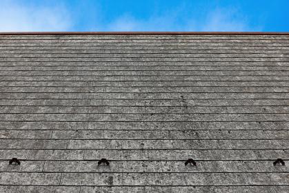 痛みのあるスレート屋根の画像