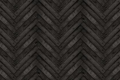 黒色の木目のヘリンボーン模様の背景画像