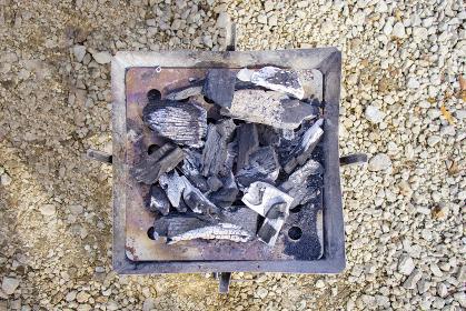 炭火 バーベキューグリル 俯瞰 3369