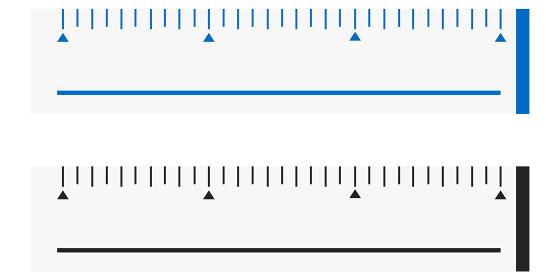 定規のイラスト素材 定規 文房具 図る ものさし 筆記用具 ベクター