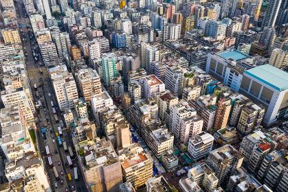 Sham Shui Po, Hong Kong, 11 September 2018:- Hong Kong downtown