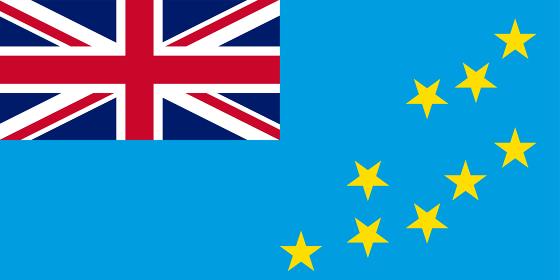 世界の国旗、ツバル