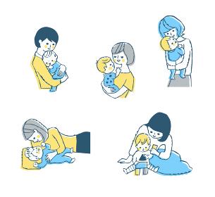 ママと赤ちゃん セット