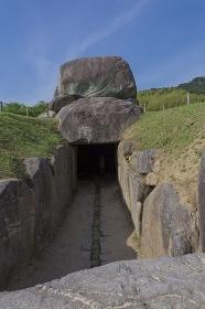 石舞台古墳の出入り口