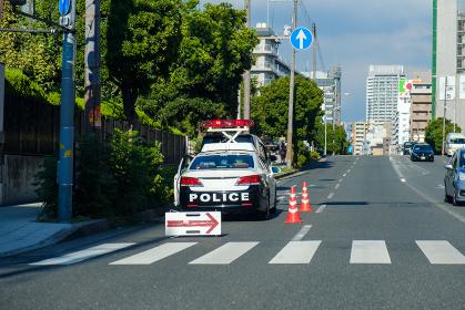 警察の取り締まり 交通違反 スピード違反