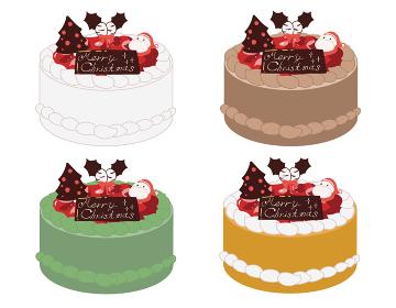 クリスマスケーキ(線無し)