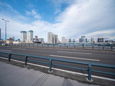 東京 豊洲の風景