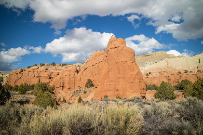 Mountain Ridges in Kodachrome Basin State Park, Utah