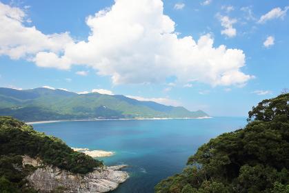 真夏の鹿児島の海