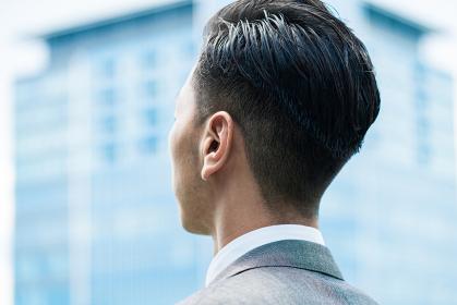 ビジネスマンの匿名イメージ