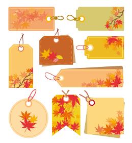 秋 フレーム 紅葉 タグ