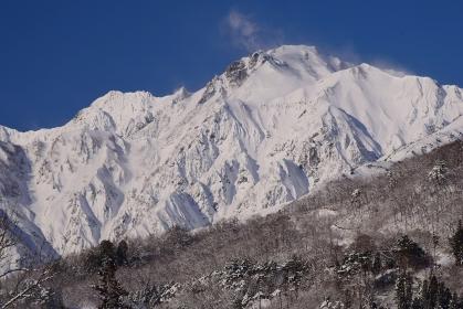 信州・白馬村 雪景色