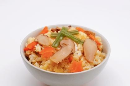 松茸ごはん 日本の秋の食べ物