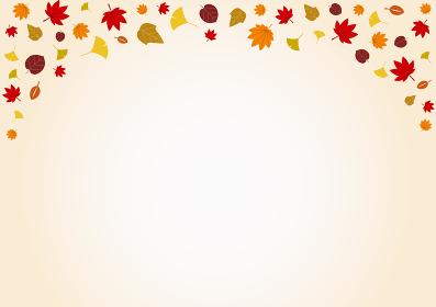秋の紅葉背景素材