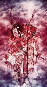 浮世絵 歌舞伎役者 その66 赤い嵐バージョン
