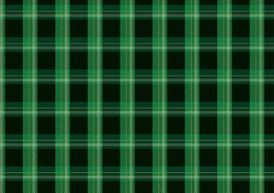ゴシックな緑色チェックパターン