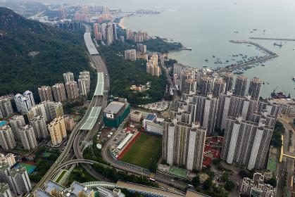 Tuen Mun, Hong Kong 09 September 2018:-Hong Kong residential area