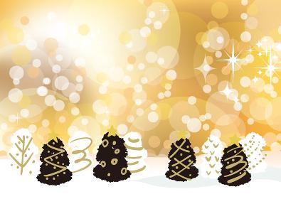 クリスマスツリー 背景素材
