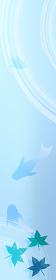金魚と楓と波紋のお中元用バナー 120x600