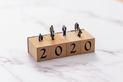 2020年を渡る人々