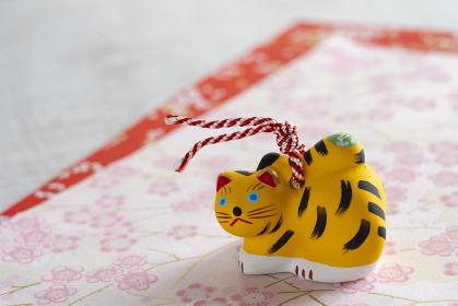 【十二支】土鈴の虎(年賀イメージ)