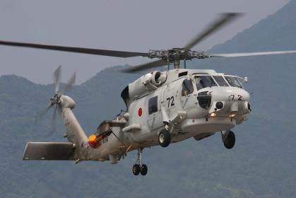 SH-60Jヘリコプター(2010海自舞鶴航空基地チビッコヤング大会イベント)