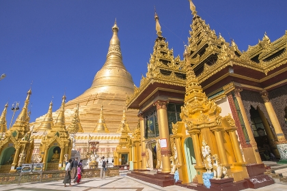 ヤンゴンのシュエダゴォン・パヤー