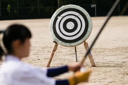日本の伝統的武道、弓道