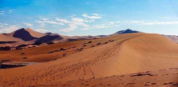 Dead Vlei landscape in Sossusvlei, Namibia