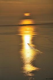 サロマ湖の朝