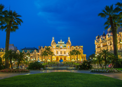 MONTE CARLO - JULY 4: Monte Carlo casino in Moncao on July 4, 2013 in Nice. Monte Carlo is the most famous casino in Europe