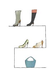 ブーツとハイヒールとバッグのお店