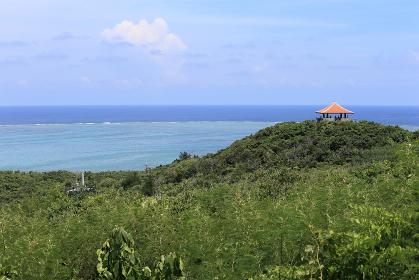 玉取崎展望台の風景 石垣島 沖縄