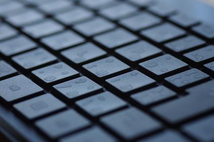 黒いキーボードのグラフィック素材