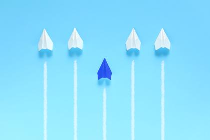 1機だけ遅れた紙飛行機 2