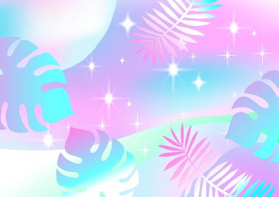 かわいいピンクのリゾートイメージ