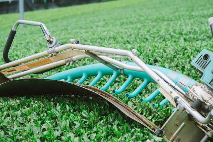 茶葉の収穫用機械 茶摘採機 バリカン