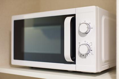 電子レンジのあるキッチン