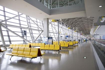 空港と待合場所